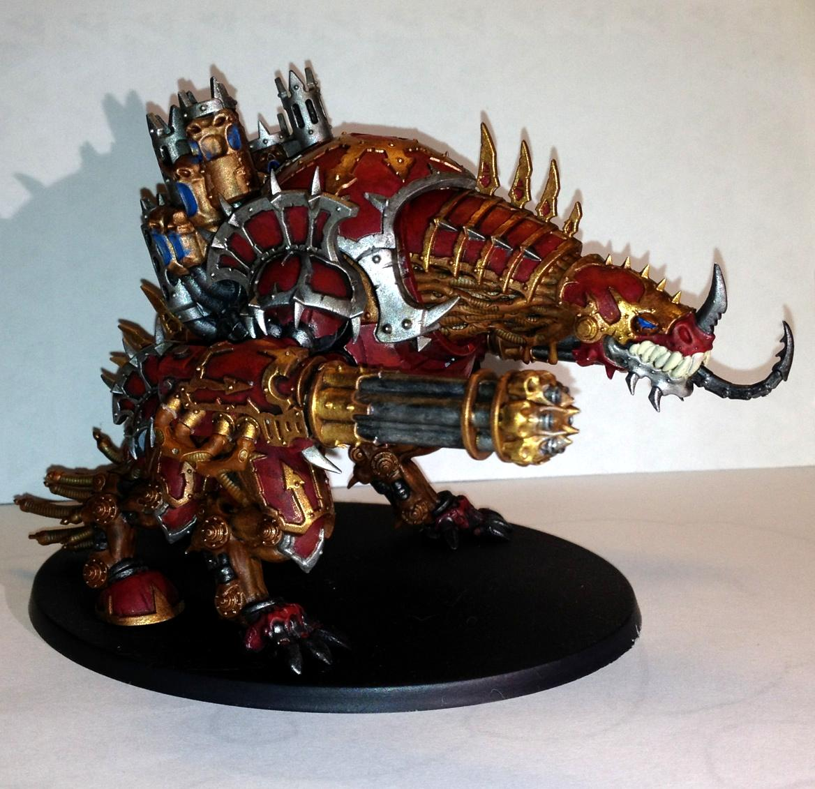 Chaos Space Marines, Forgefiend w/Hades Autocannons