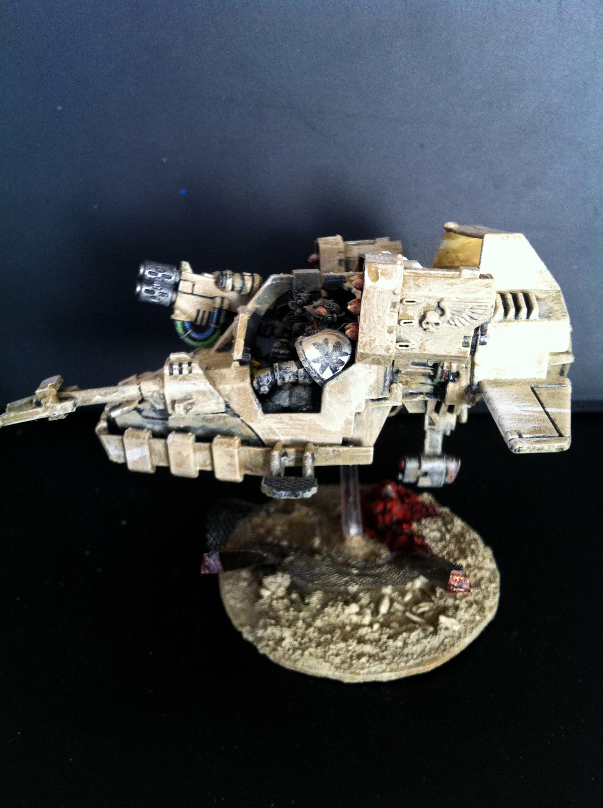 Black Templars, Desert, Land Speeder