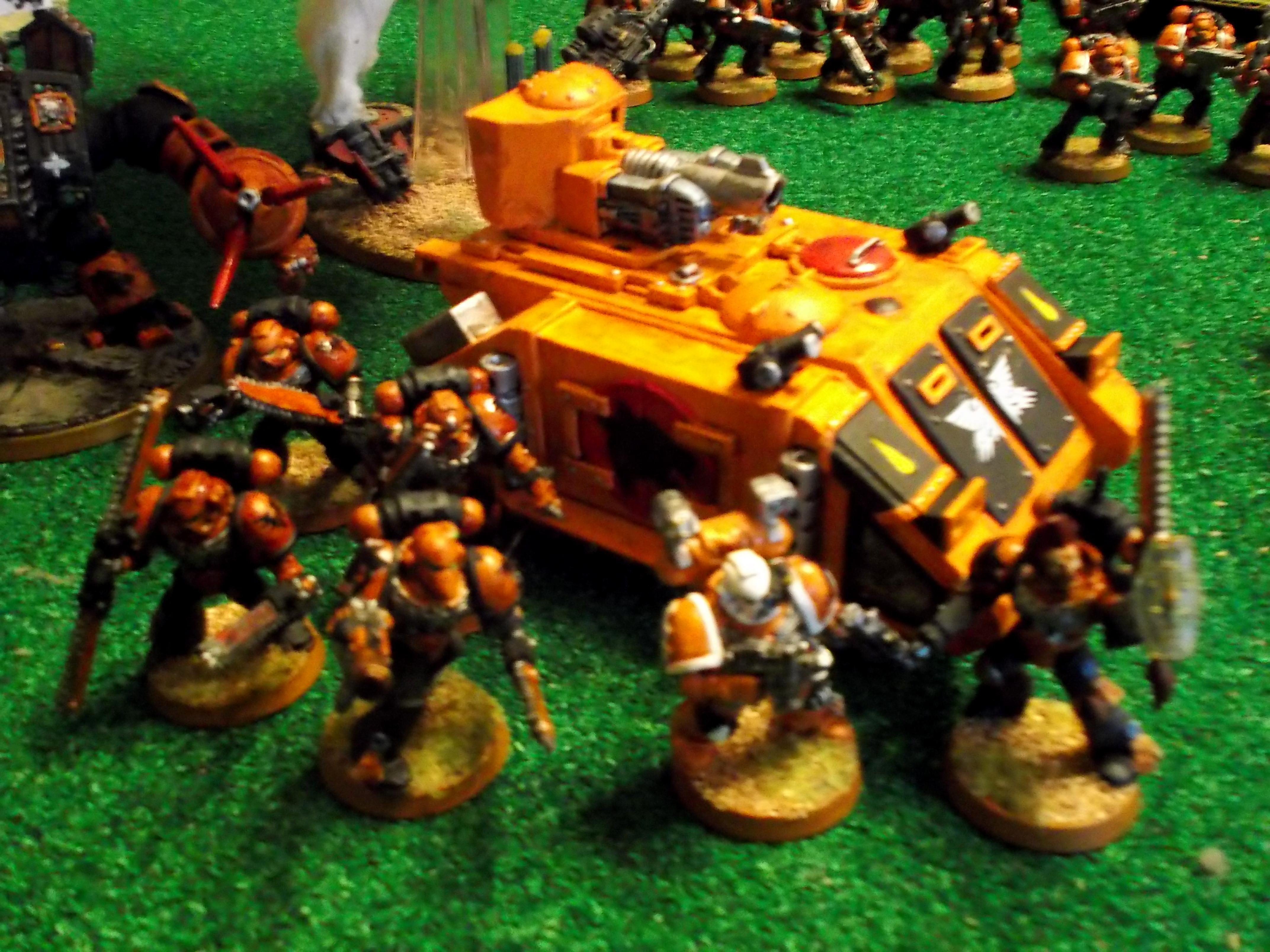 Assault Squads, Priest and Razorback