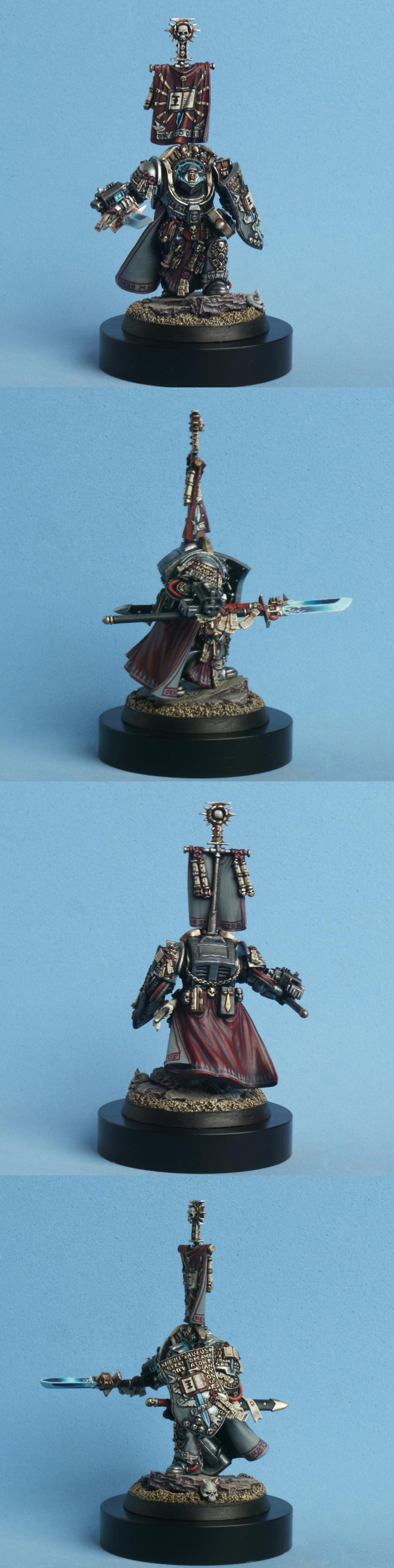 Draigo, Grand Master, Grey Knights, Kaldor, Terminator Armor