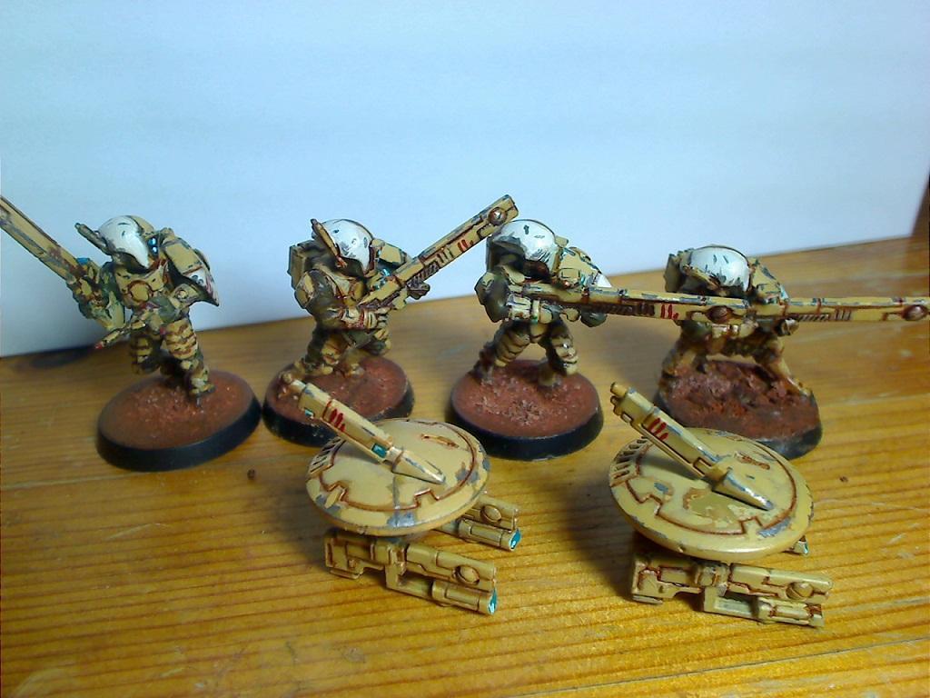 Battleworn, Damage, Damaged, Fire Warriors, Tau