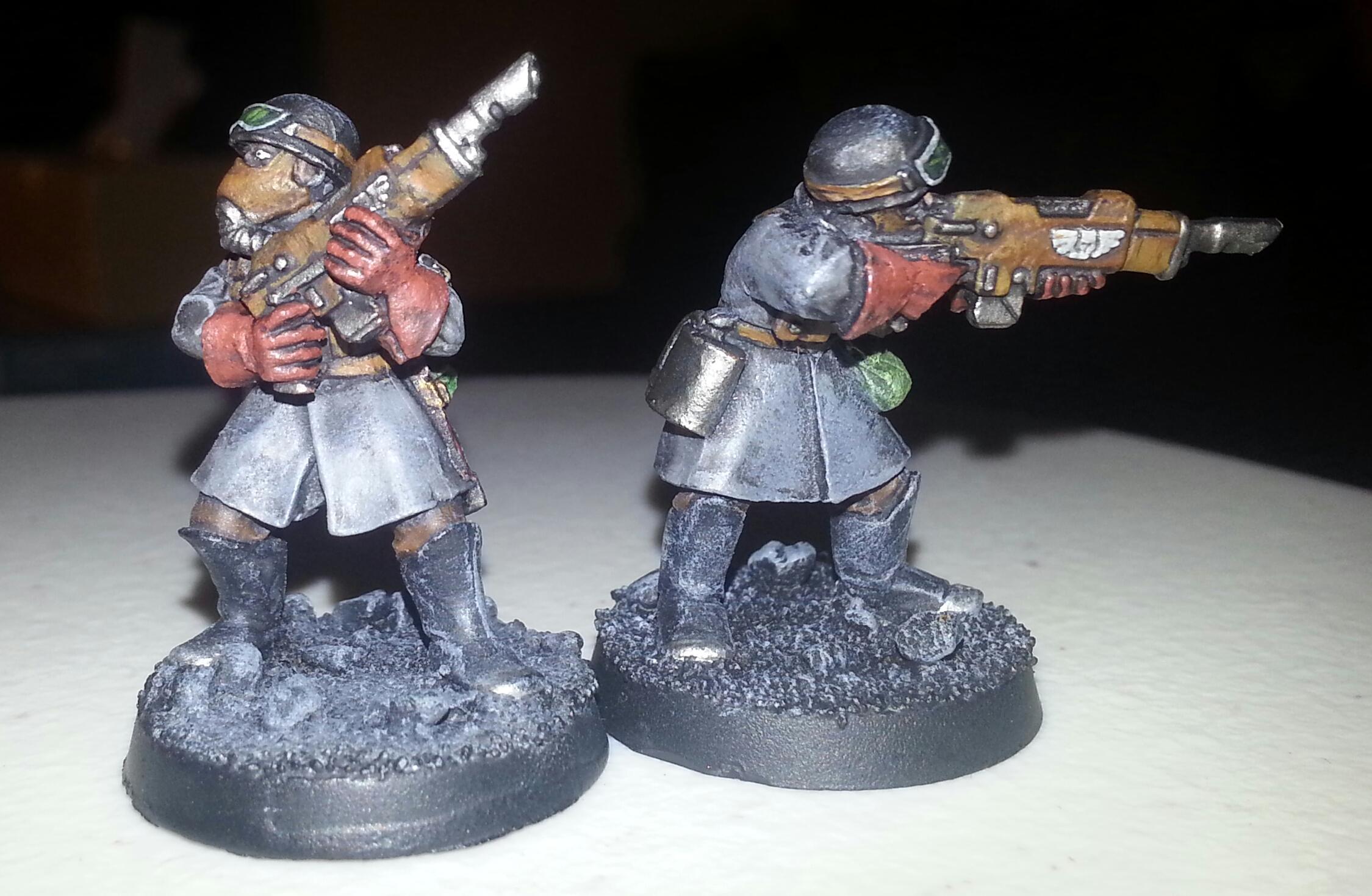 Brown, Grey, Imperial Guard, Lasgun, Steel Legion, Warhammer 40,000
