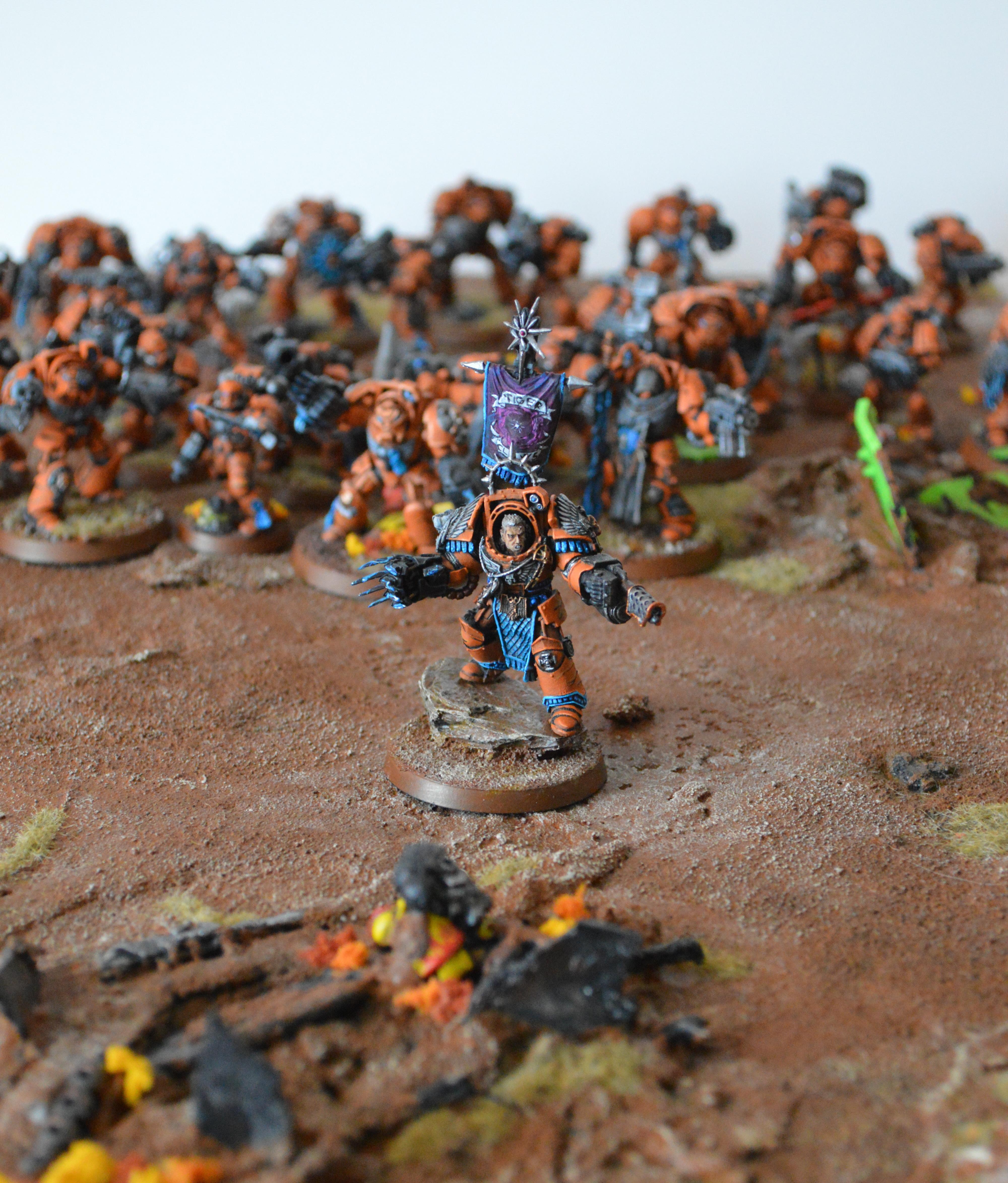 Badab War, Display, Huron, Space Marines, Terminator Armor, Tiger Claws 2013, Warhammer 40,000