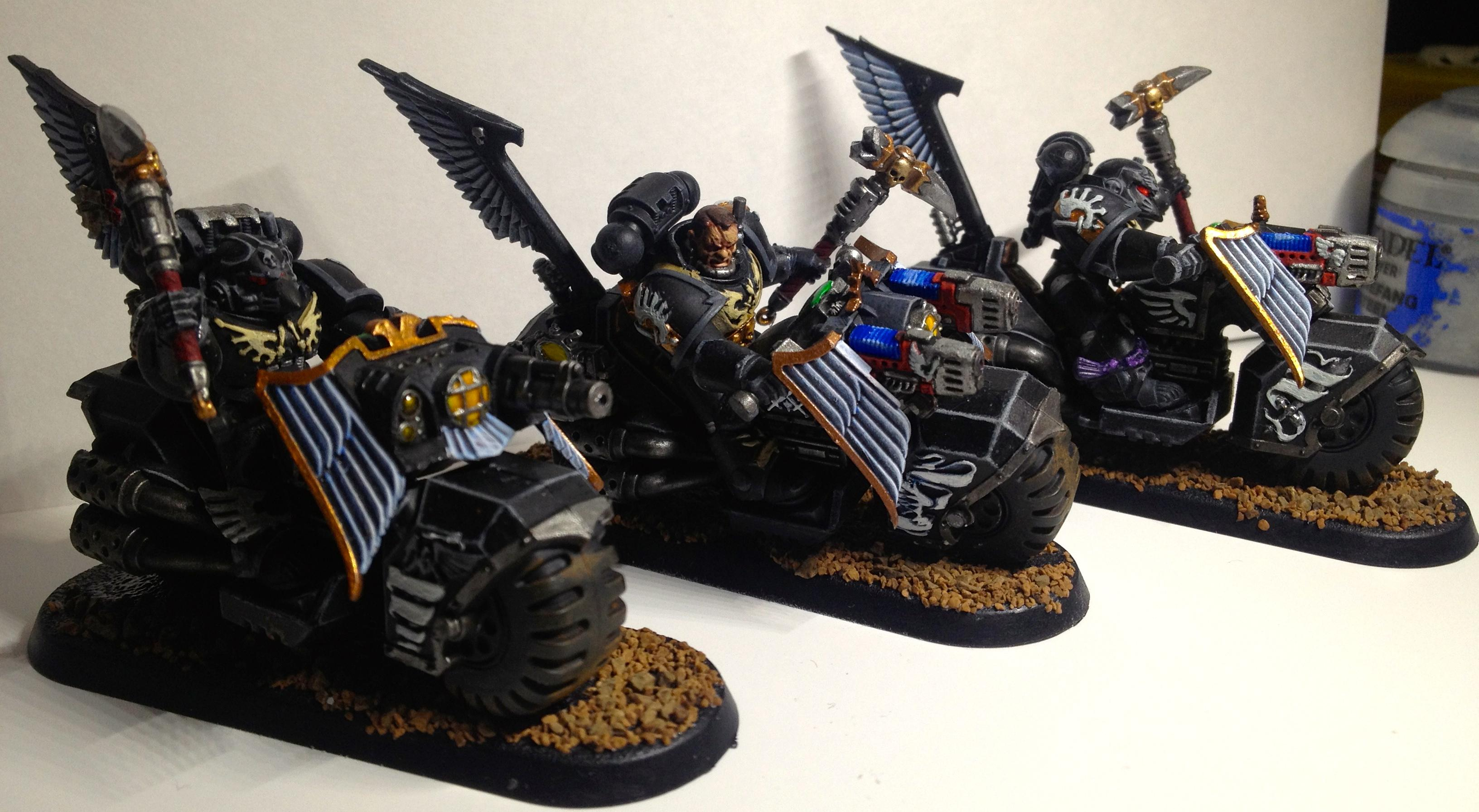 Black Knights, Dark Angels, Dark Vengeance, Ravenwing, Space Marines