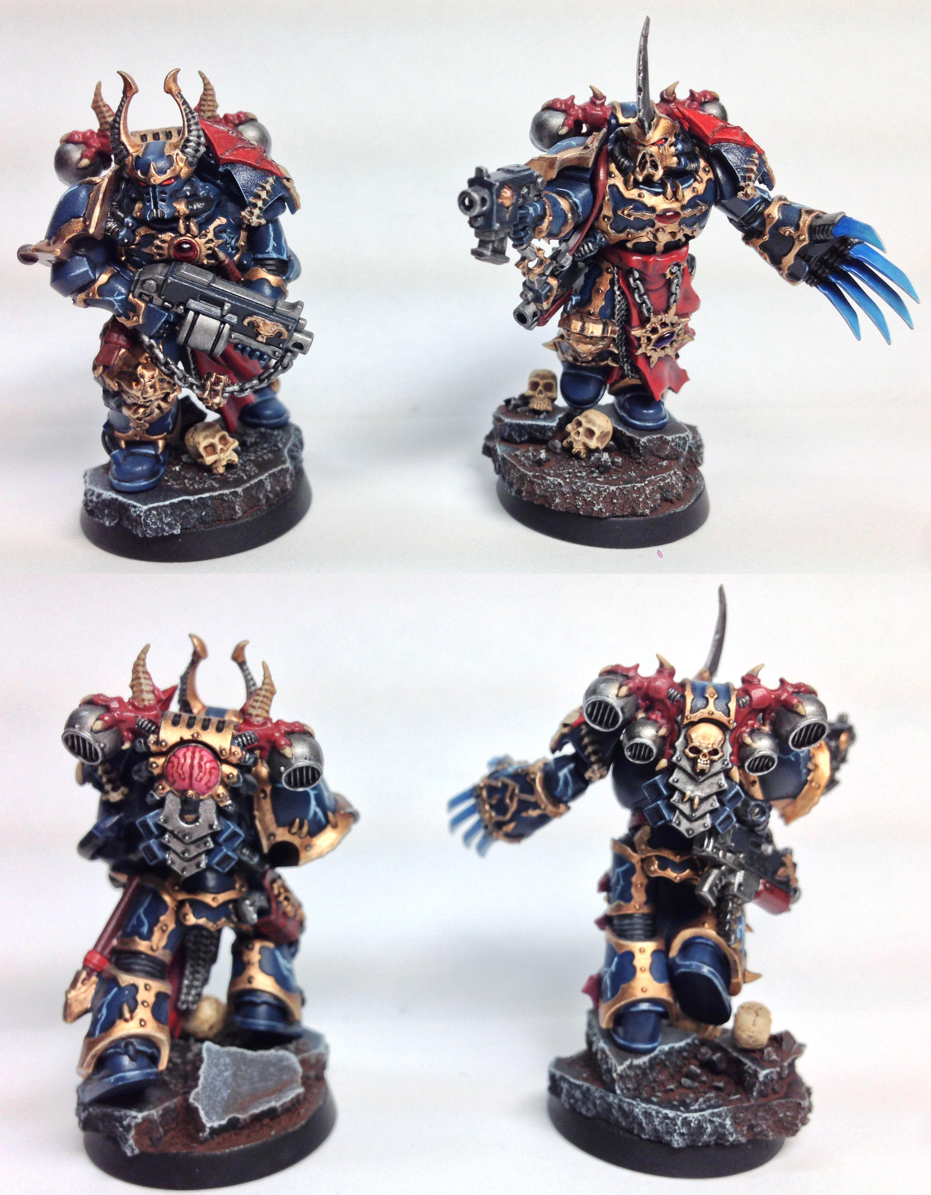 Aspiring Champion, Chaos Space Marines, Magnet, Night Lords, Raptors