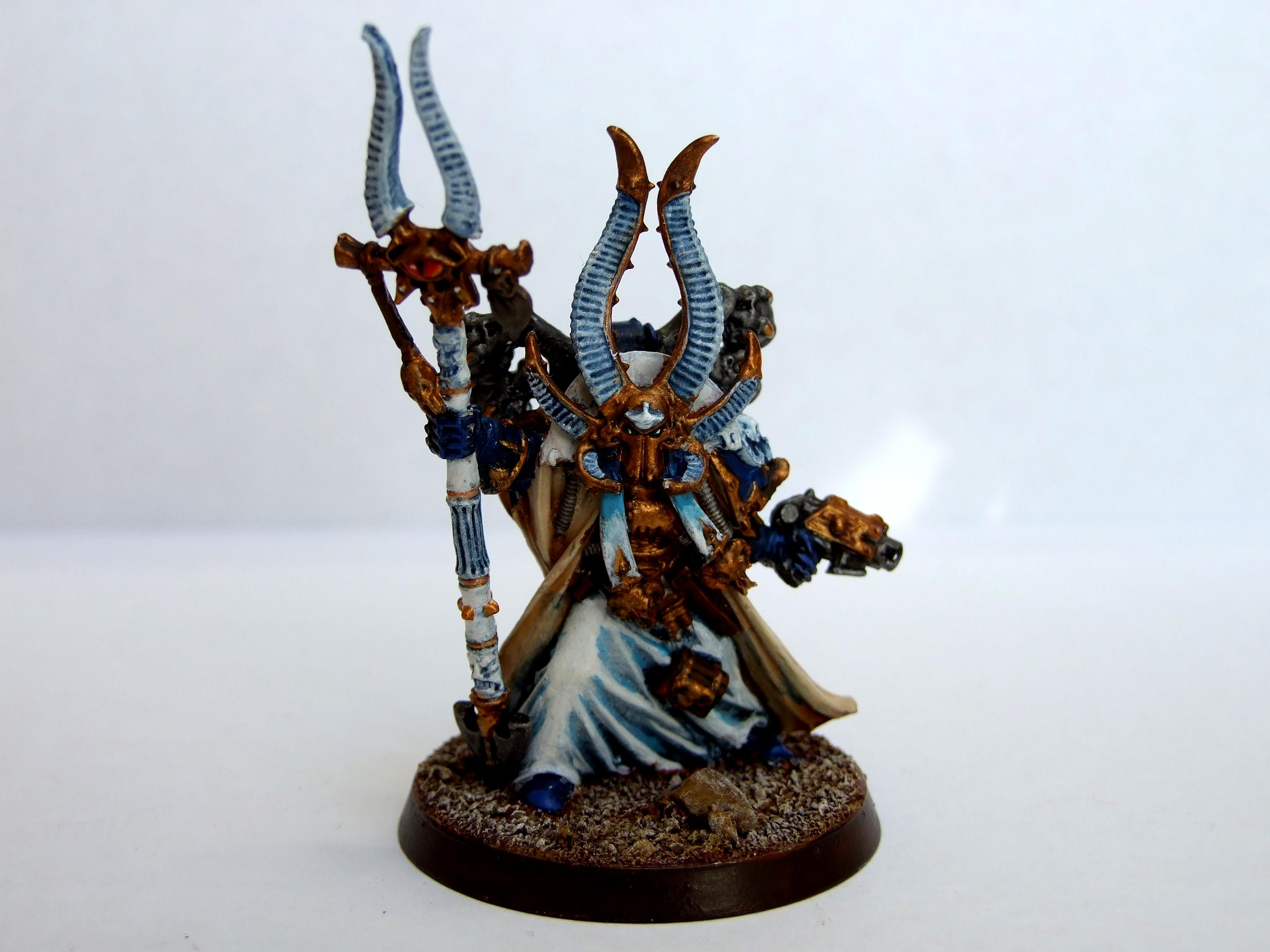 Arhiman, Chaos Space Marines, Physker, Sorcerer, Thousand Sons, Warhammer 40,000