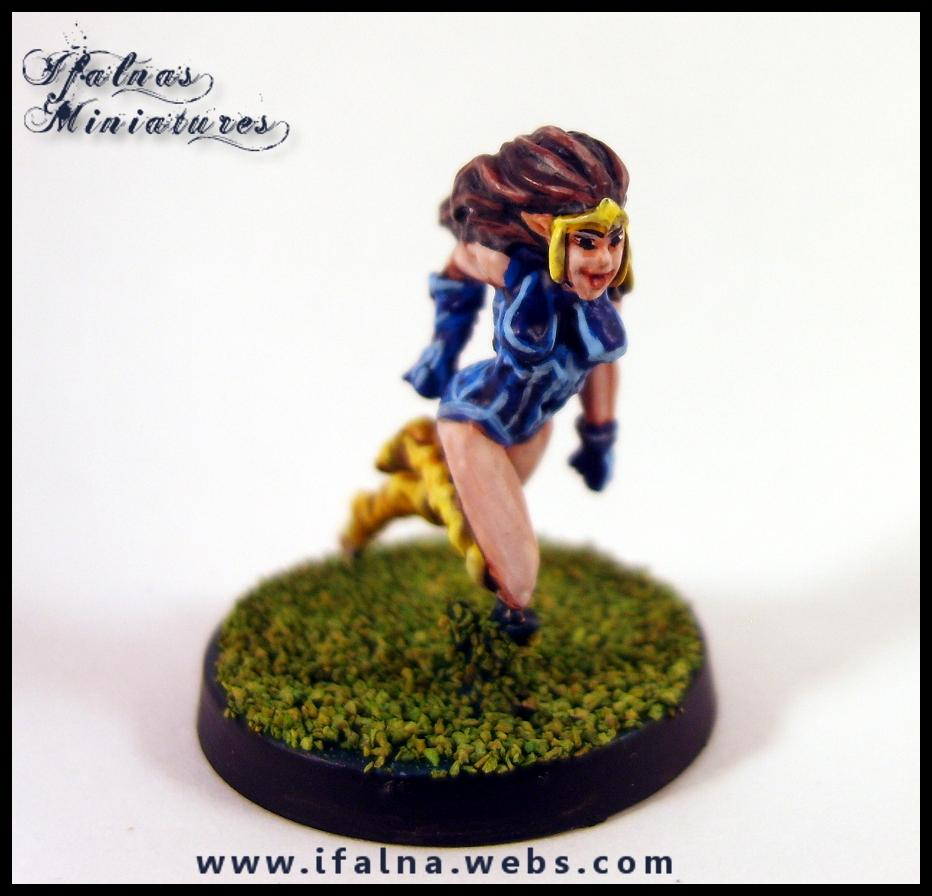 Amazon, Blood Bowl, Elves, Games Workshop, Ifalna, Team, Warhammer Fantasy
