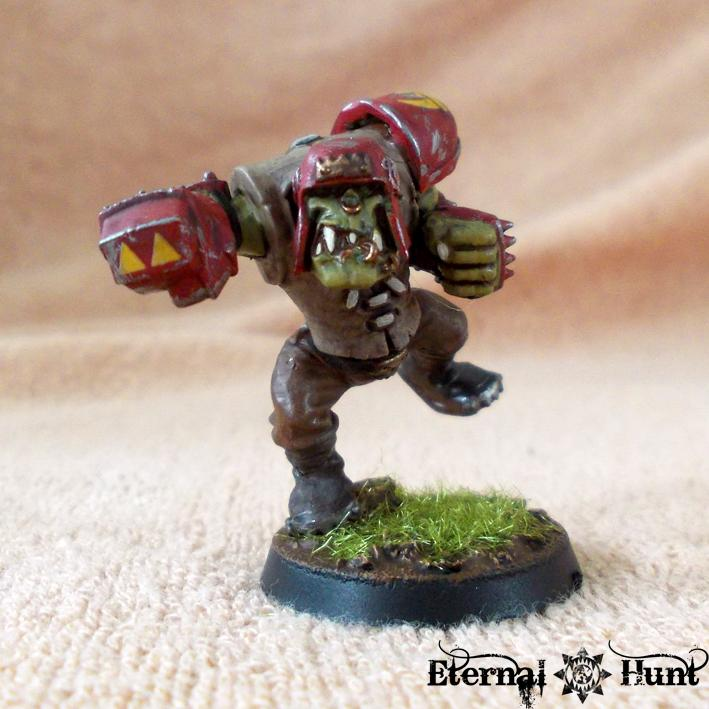 Bb, Blitzer, Blood Bowl, Conversion, Goblins, Greenskins, Kitbash, Orcs, Orcs & Goblins, Orkheim Ultraz, Team, Warhammer Fantasy, Wfb