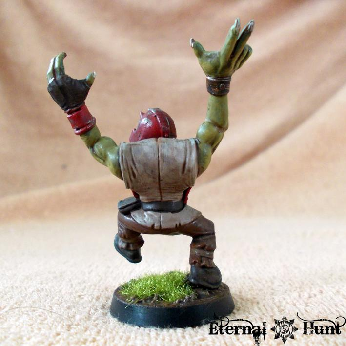 Bb, Blood Bowl, Conversion, Goblins, Greenskins, Kitbash, Lineman, Orcs, Orcs & Goblins, Orkheim Ultraz, Team, Warhammer Fantasy, Wfb