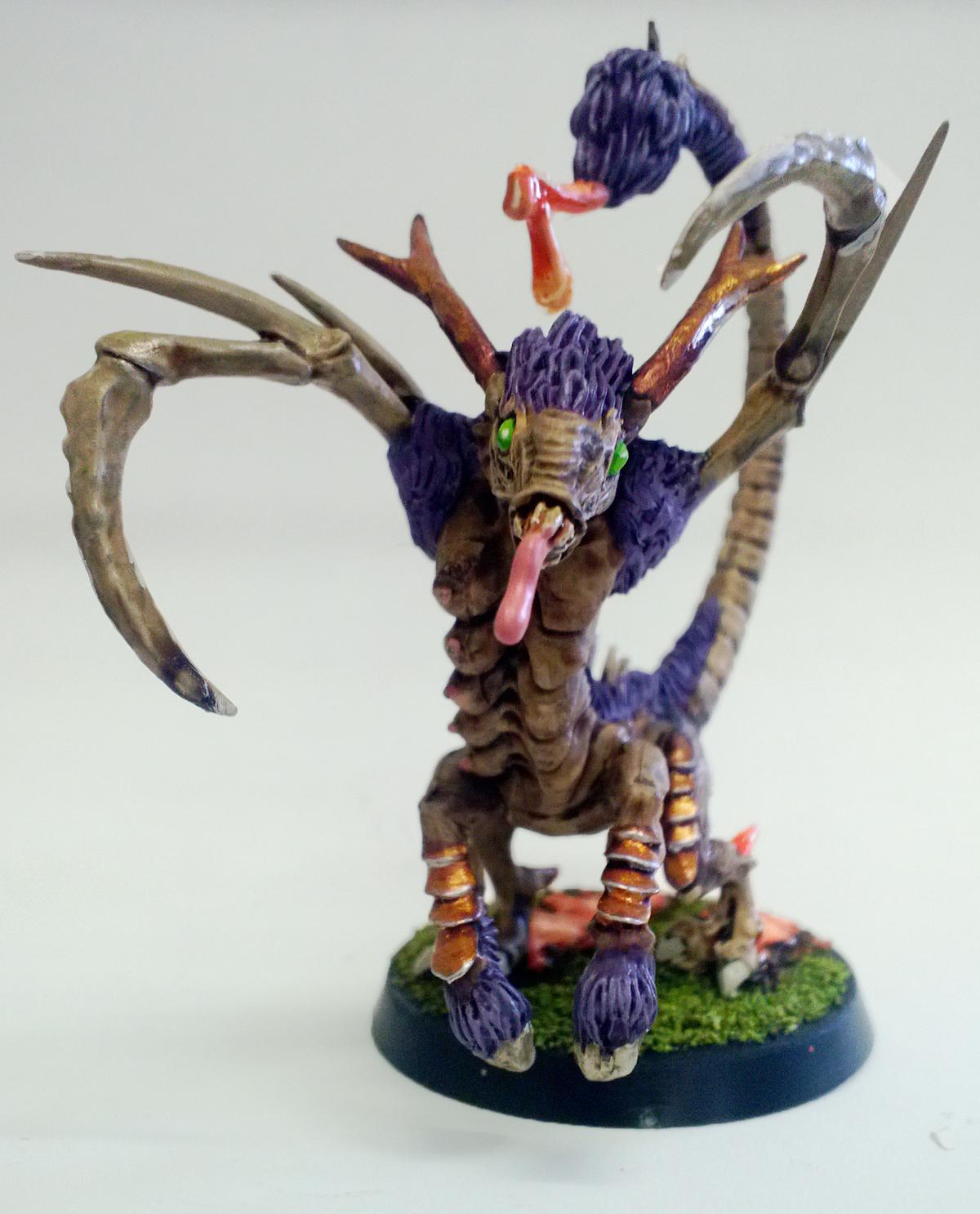 Daemon Fiend, Daemon Fiend Of Slaanesh, Warhammer 40,000, Warhammer Fantasy