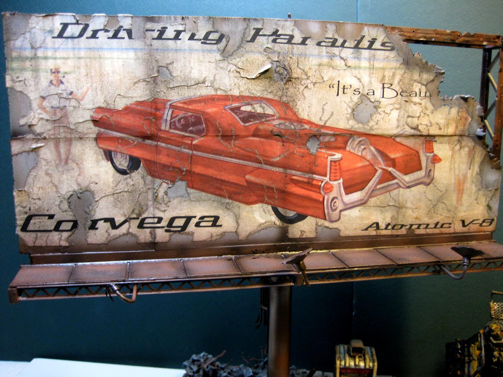 Billboard, Fallout, Terrain, Wallpaper