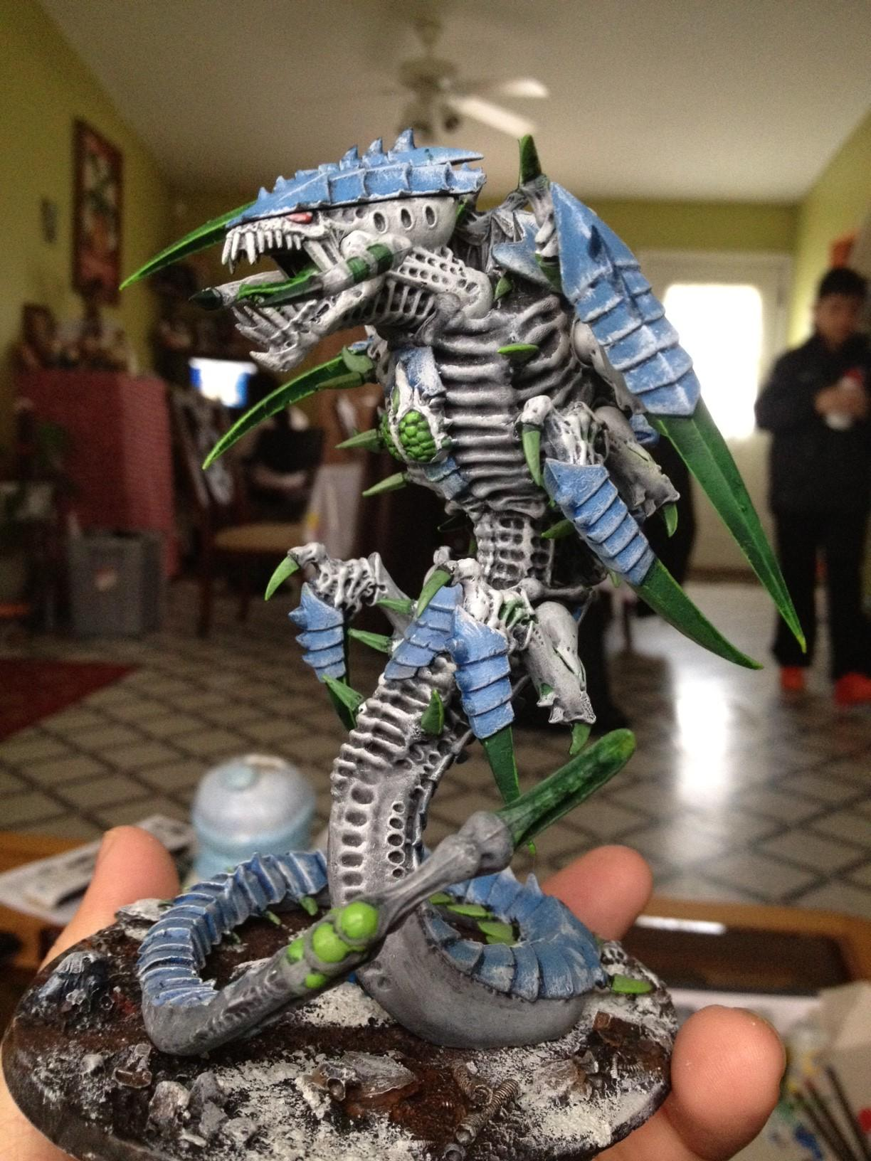 Monstrous Creature, Painted, Tervigon, Trygon, Tyranids, Warhammer 40,000