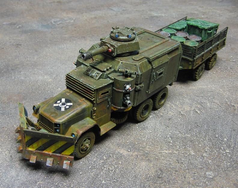 Armored Car, Ash Wastes, Civilian, Necromunda, Truck