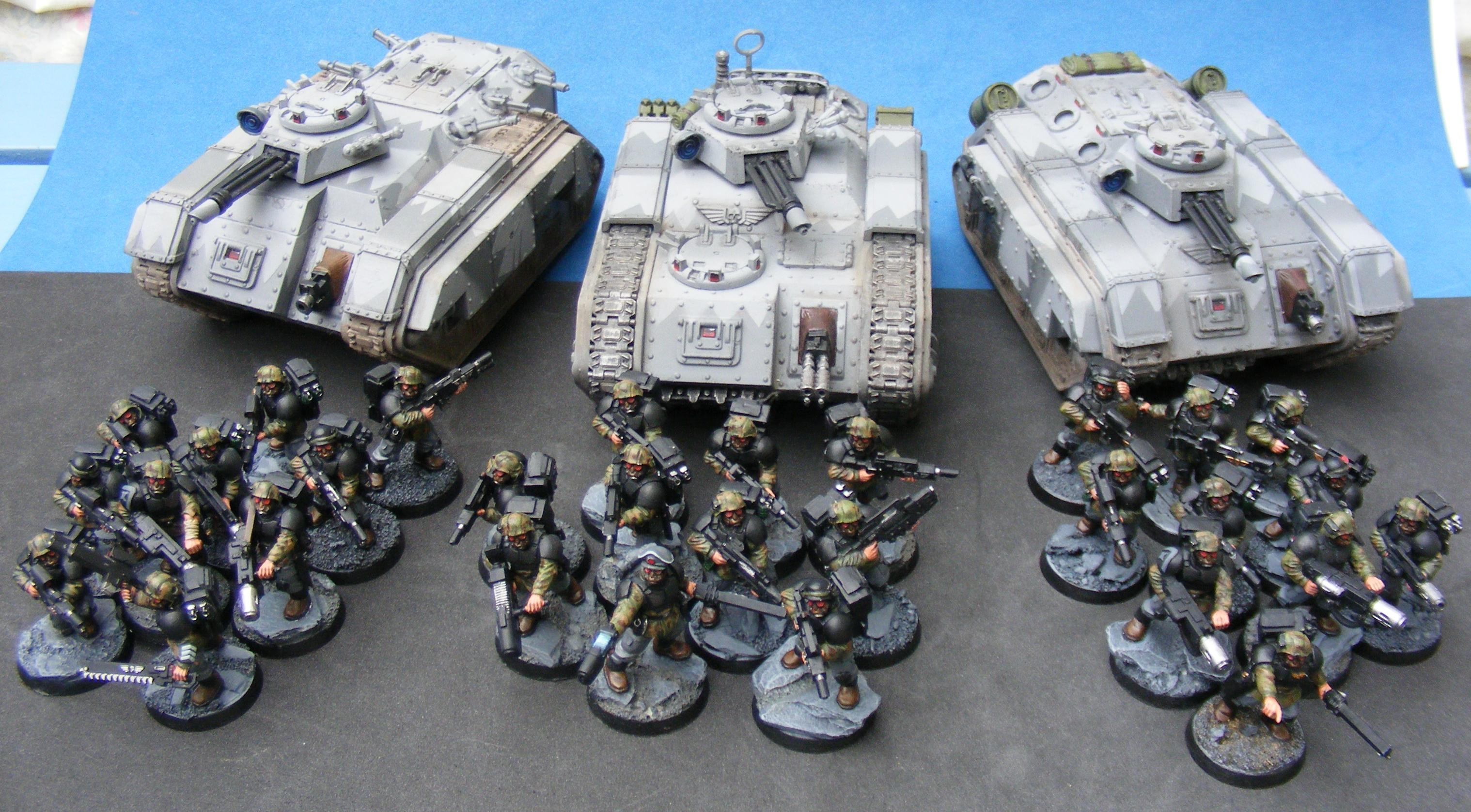 Chimera, Imperial Guard, Mechanised, Veteran, Warhammer 40,000