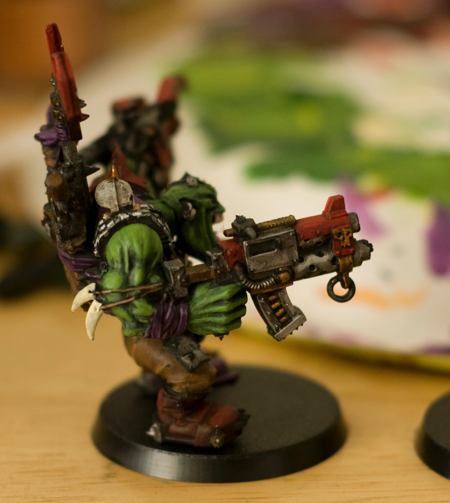 Orks, Warboss, Warboss Side