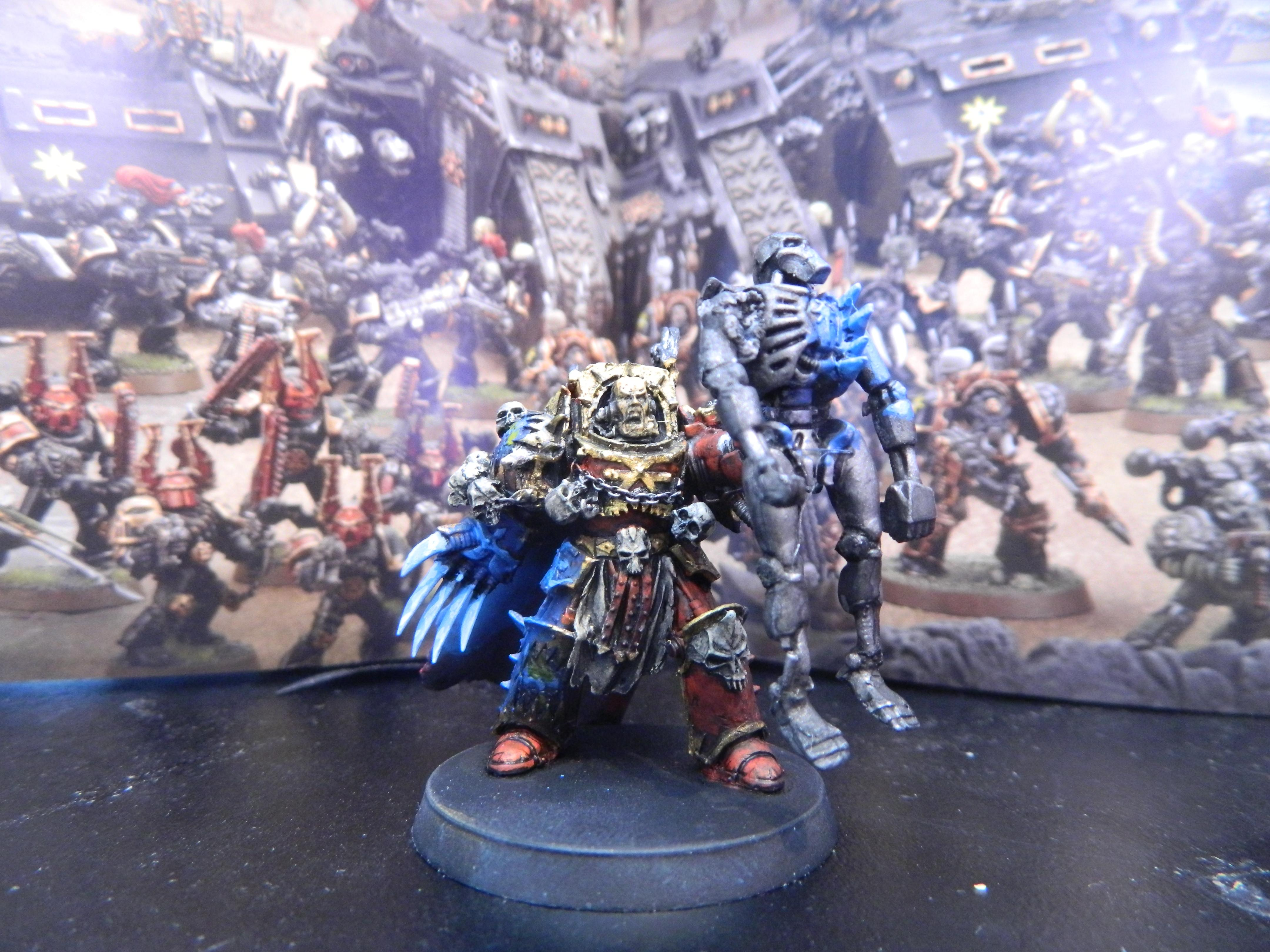 Chaos, Chaos Space Marines, Khorne, Lighting, Lightning Claw, Lord, Necrons, World Eaters