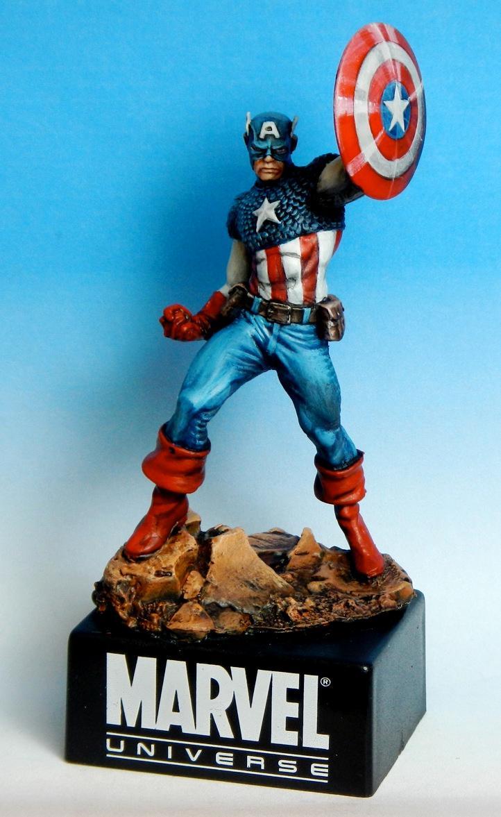 Captain America, Comics, Large Scale, Statue