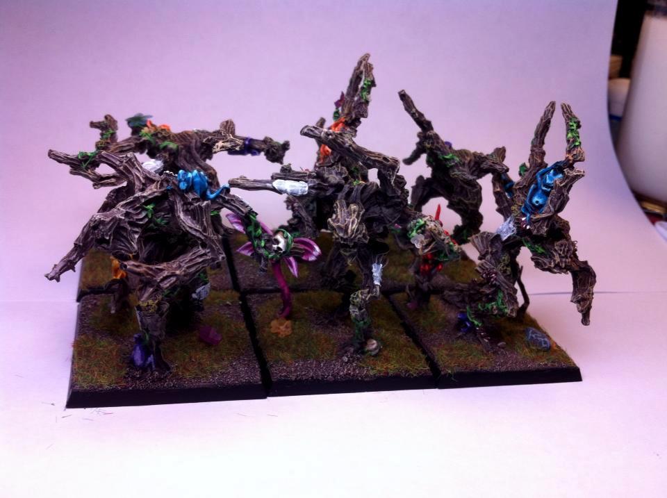 Elves, Tree Kin, Warhammer Fantasy, Wood