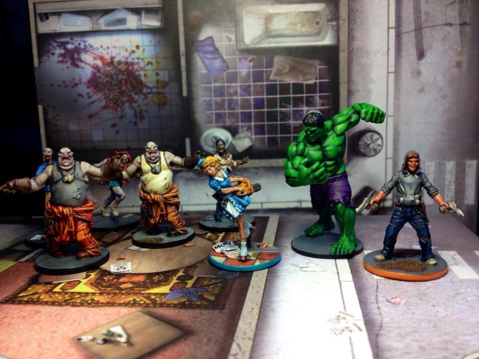 Heroclix, Hulk, Zombicide