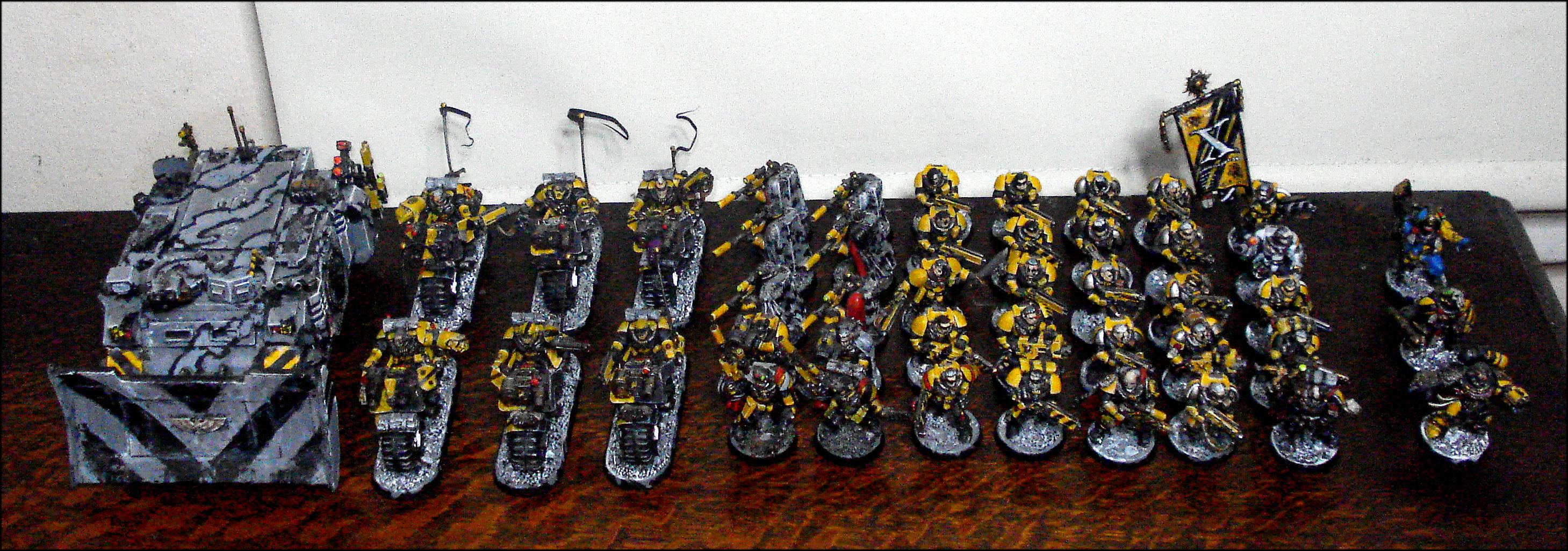 Imperial Fists Army Warhammer 40k Gamesworkshop Scouts 10th
