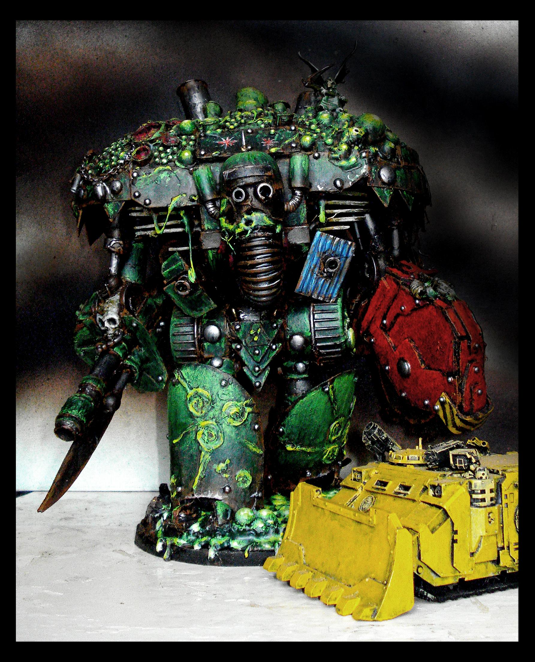Built, Chaos, Knights, Nurgle, Plague, Recycled, Scratch, Scratch Build, Titan, Warhammer 40,000, Warhammer Fantasy