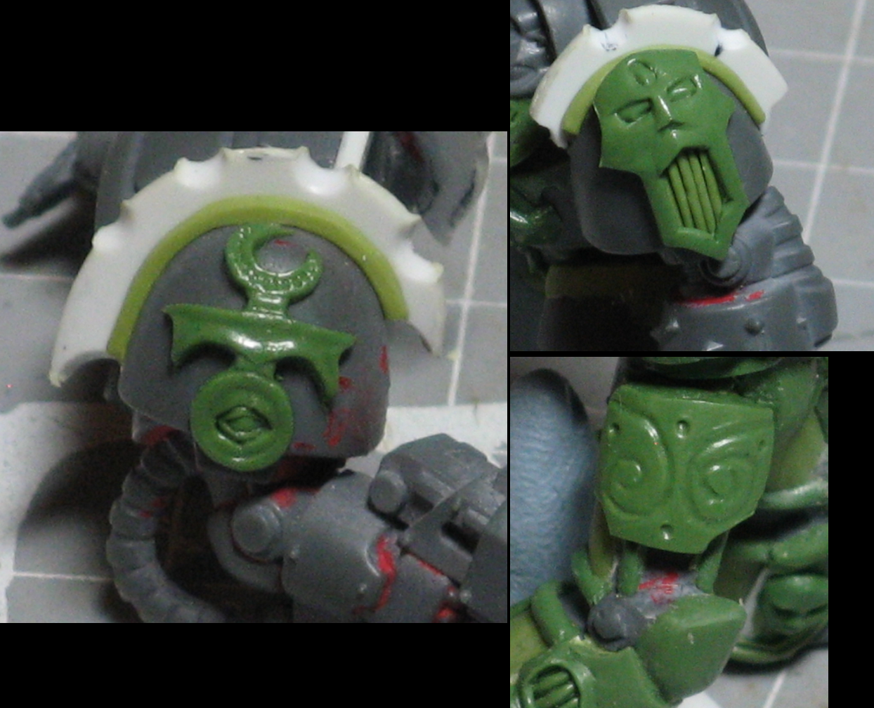 Chaos, Chaos Space Marines, Conversion, Warhammer 40,000, Work In Progress