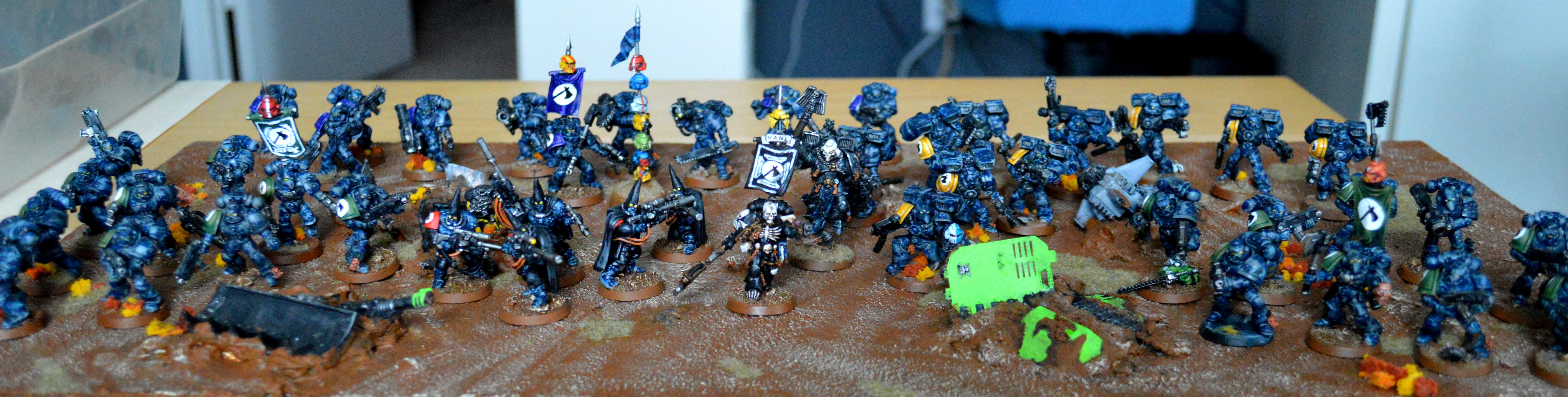 1000 Points, Adepticon 2013, Executioners, Space Marines, Warhammer 40,000