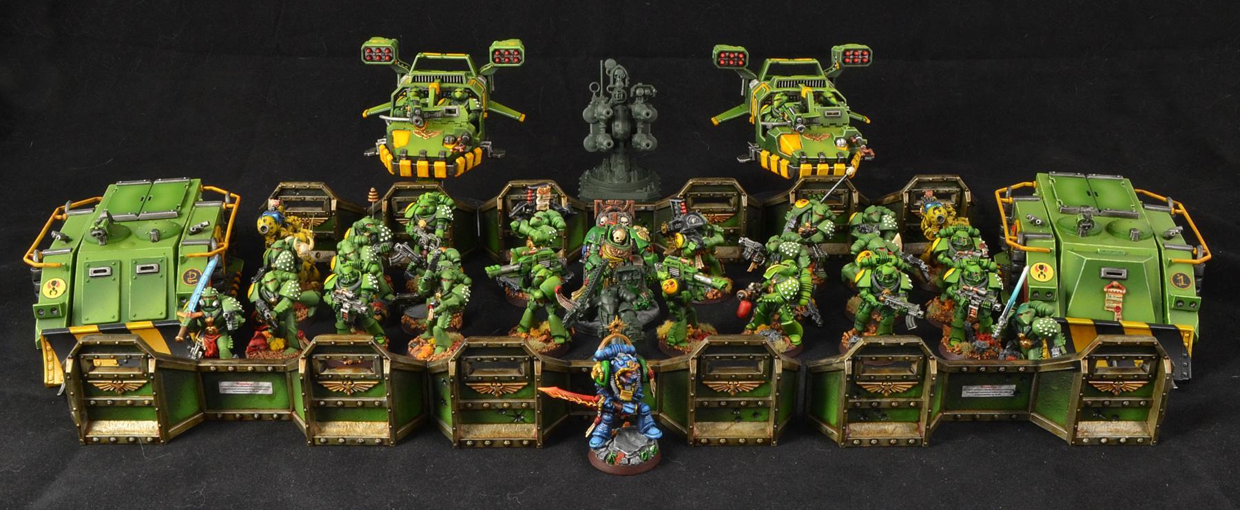Adepticon, Mantis Warriors, Space Marines, Warhammer 40,000, Work In Progress