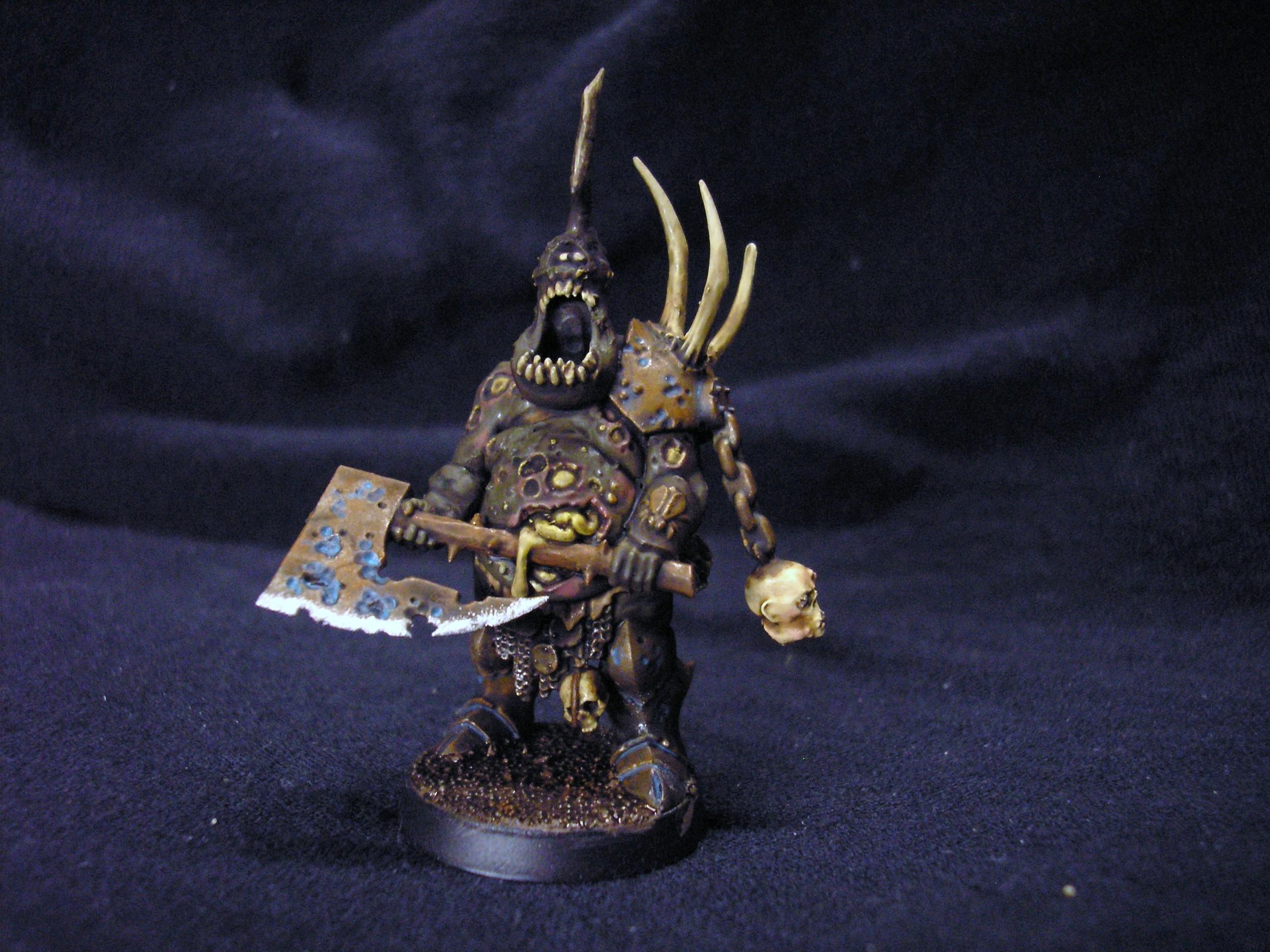 Daemons, Herald Of Nurgle, Nurgle, Plaguebearers