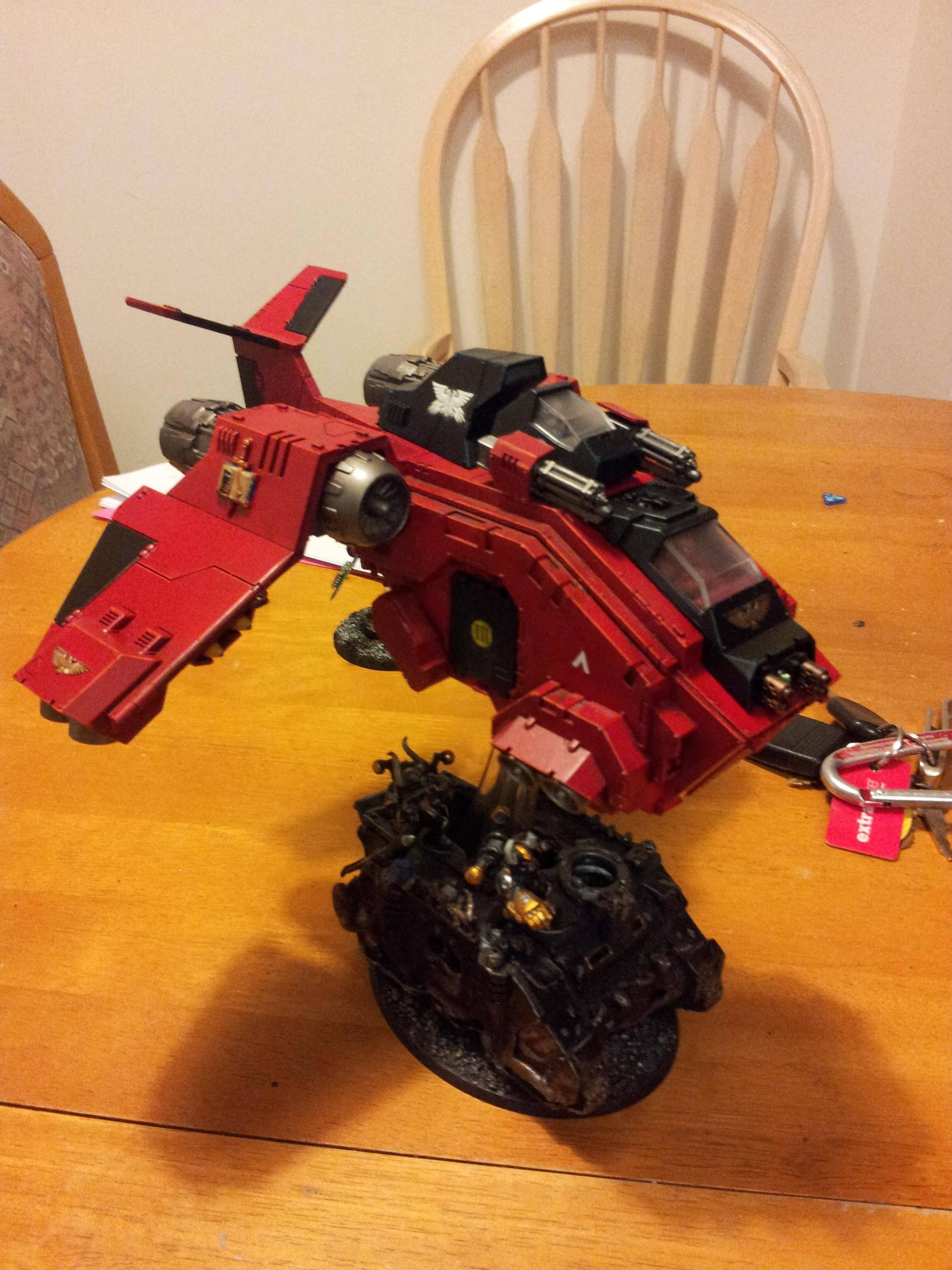 Exorcists, Flyer, Space Marines, Stormraven