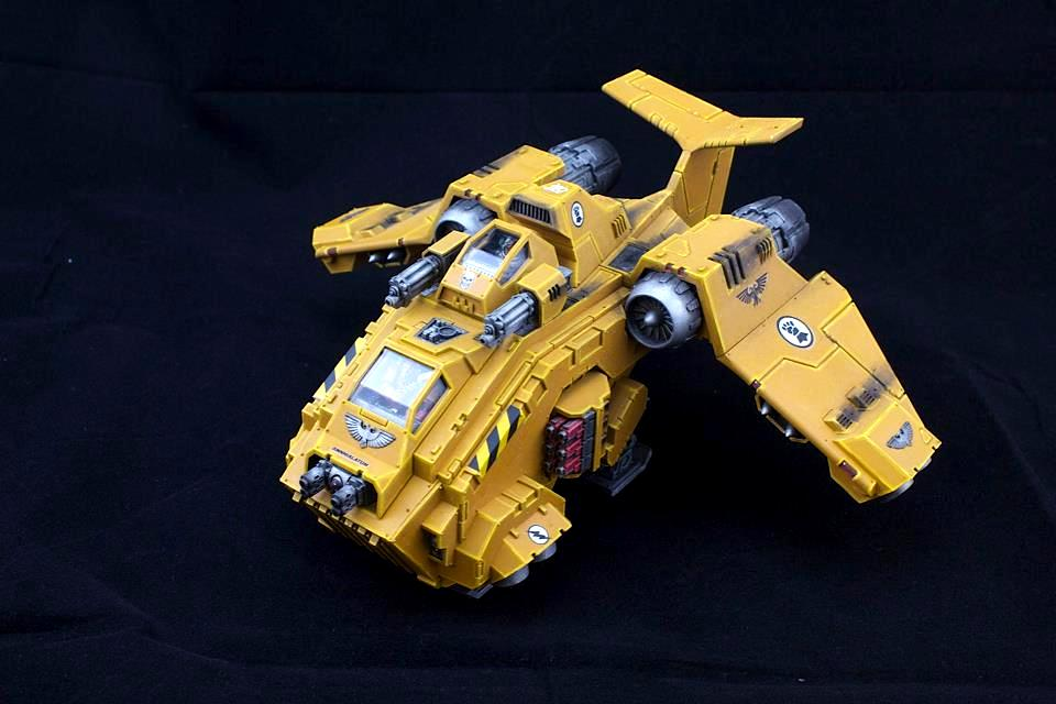 Imperial Fists, Space Marines, Storm Raven, Vehicle