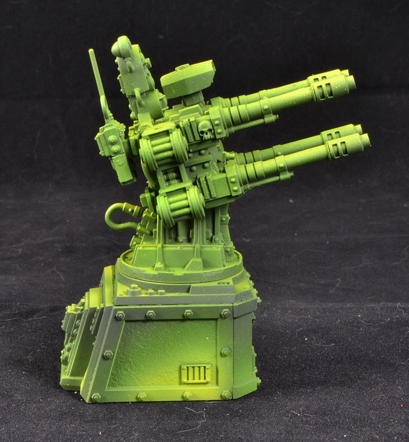Mantis Warriors, Quad Gun, Space Marines, Warhammer 40,000, Work In Progress