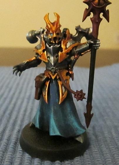 Chaos, Iron Warriors, Kitbash, Sorcerer