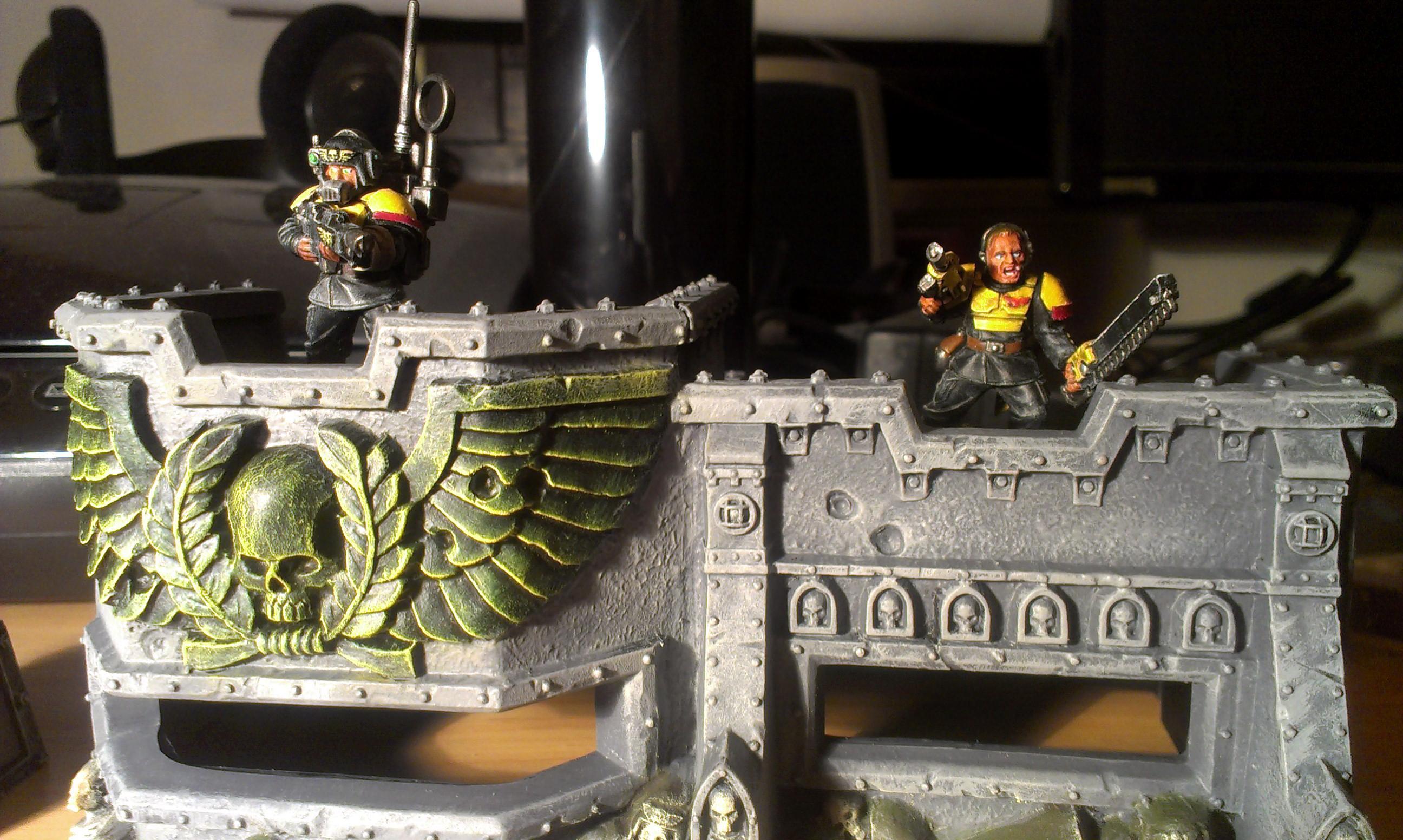 Bunker, Gatling, Imperial Guard, Thanatos