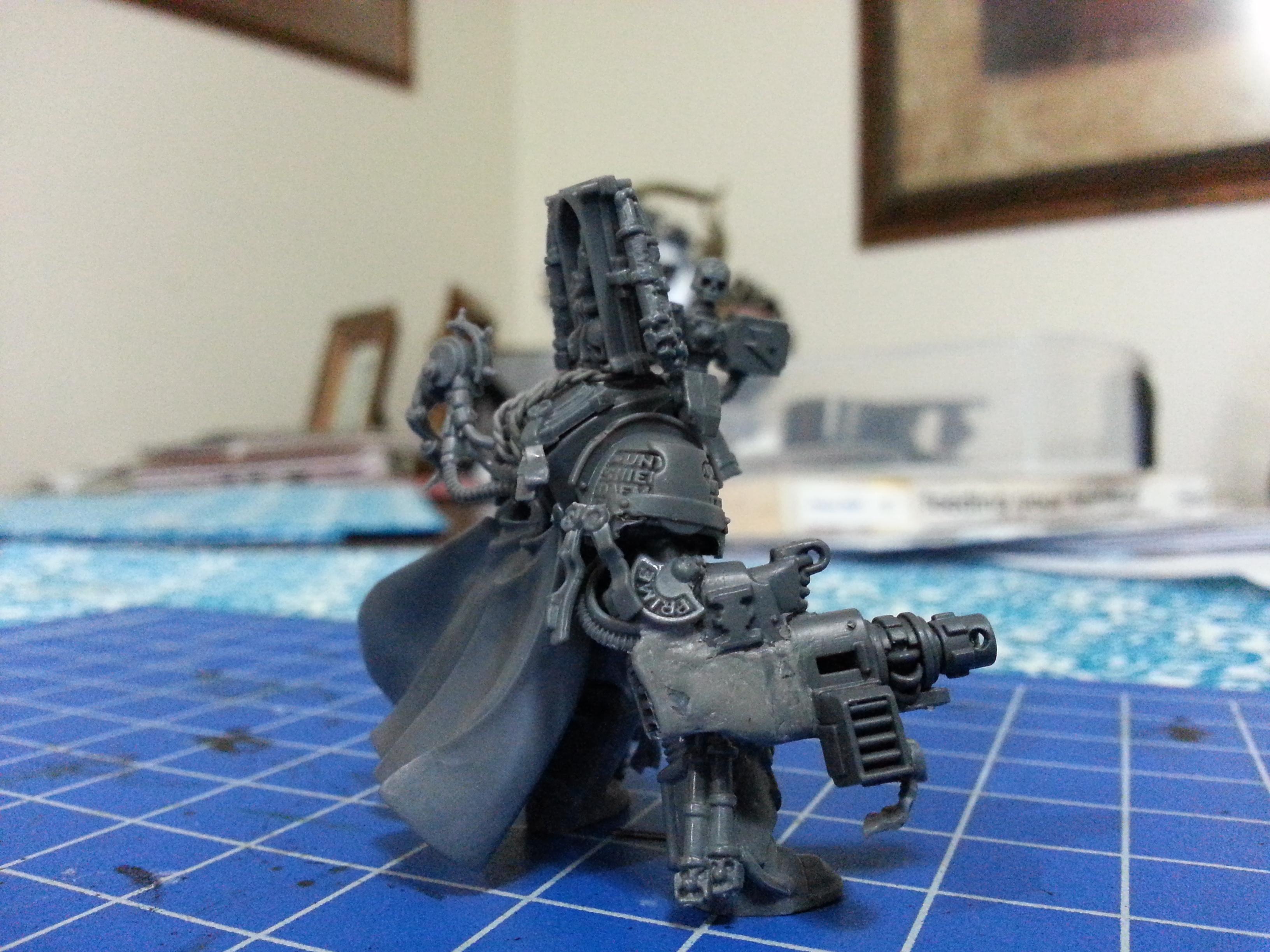 Grey Knights, Inquisitor, Malleus, Ordo, Space Marines, Terminator Armor, Warhammer 40,000