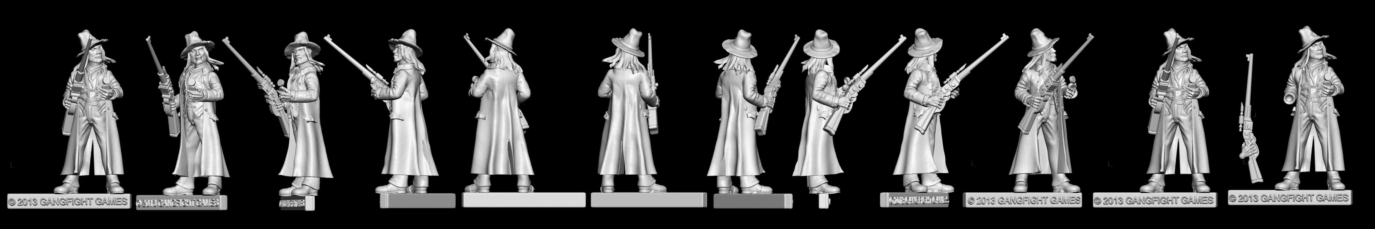 Doc Lloyd, Render, Wild West, Work In Progress