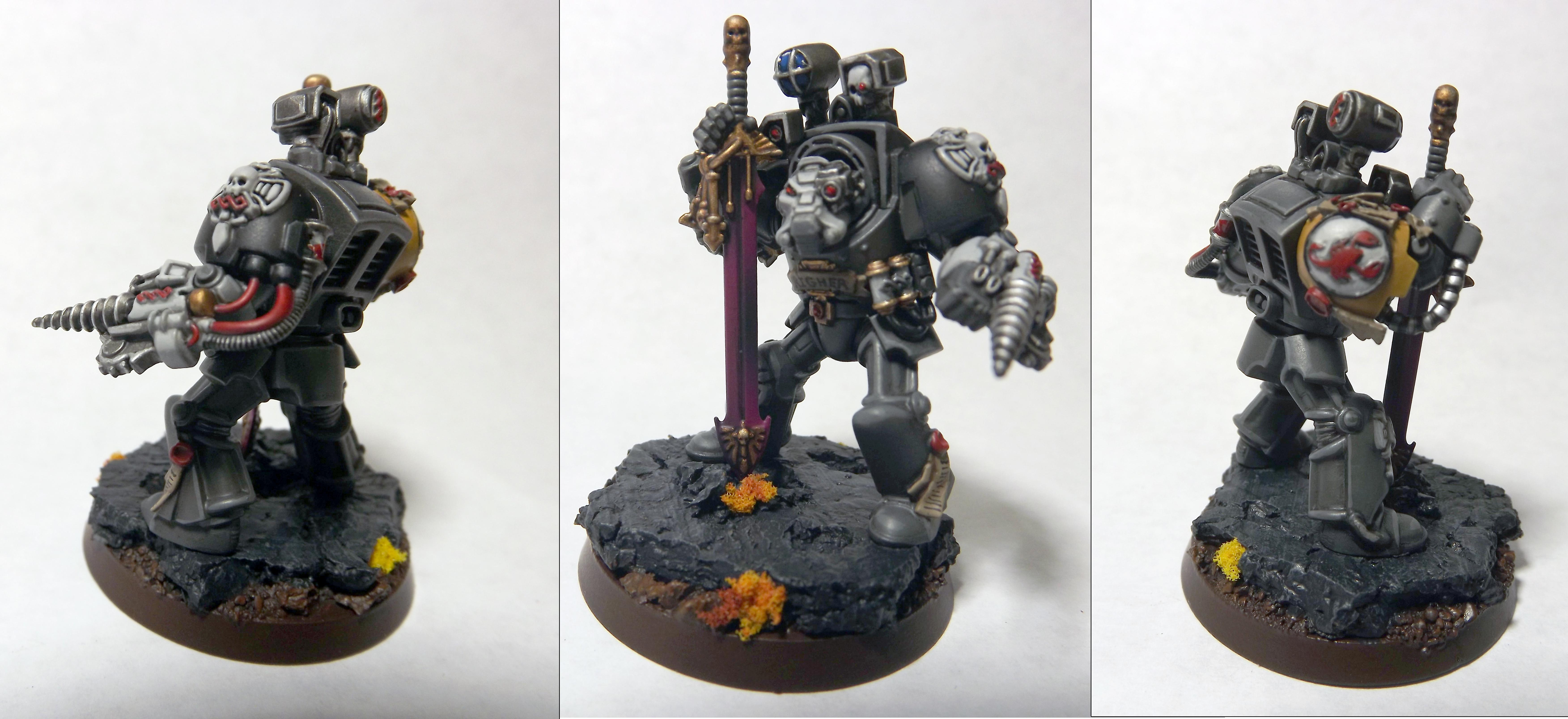 Red Scorpions, Space Marines, Terminator Armor