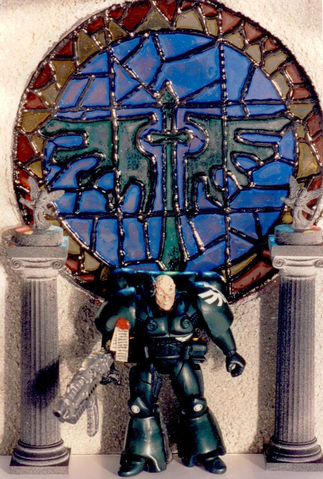 Action Figure, Astartes, Dark Angels, Darkangels, Imperium, Large Astartes, Large Space Marine, Military, Space Marines, Spacemarine, War, Warhammer 40,000, Warhammer Fantasy