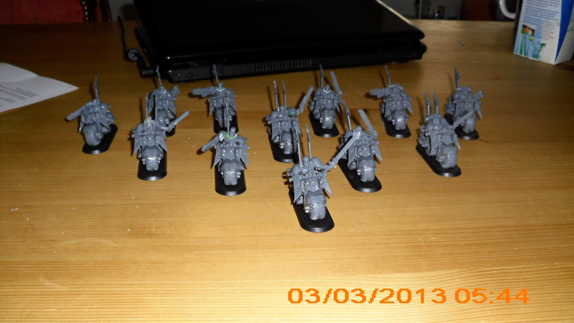 dark angel bikers pre heresy low budget