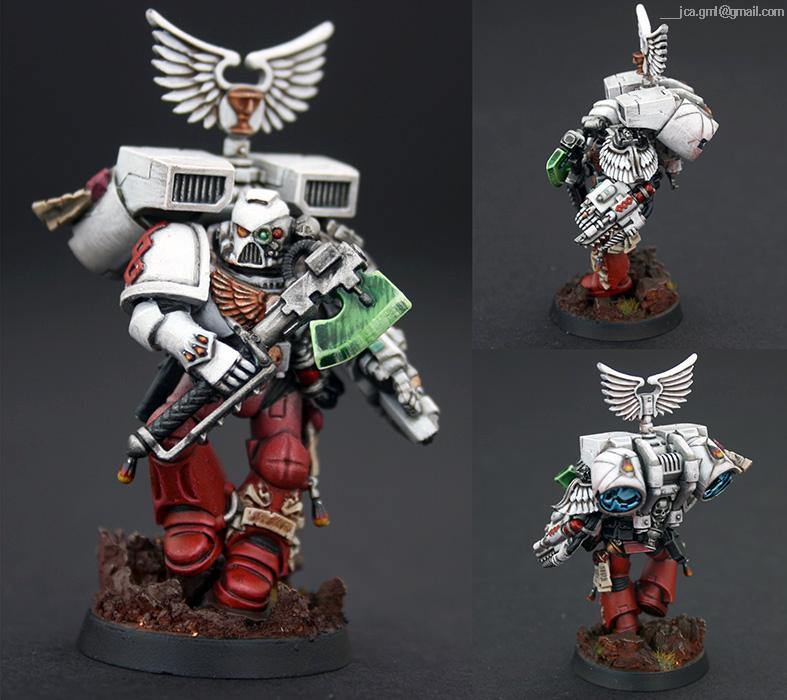 Apothecary, Blood Angels, Jca, Novitiate, Sanguinary Priest