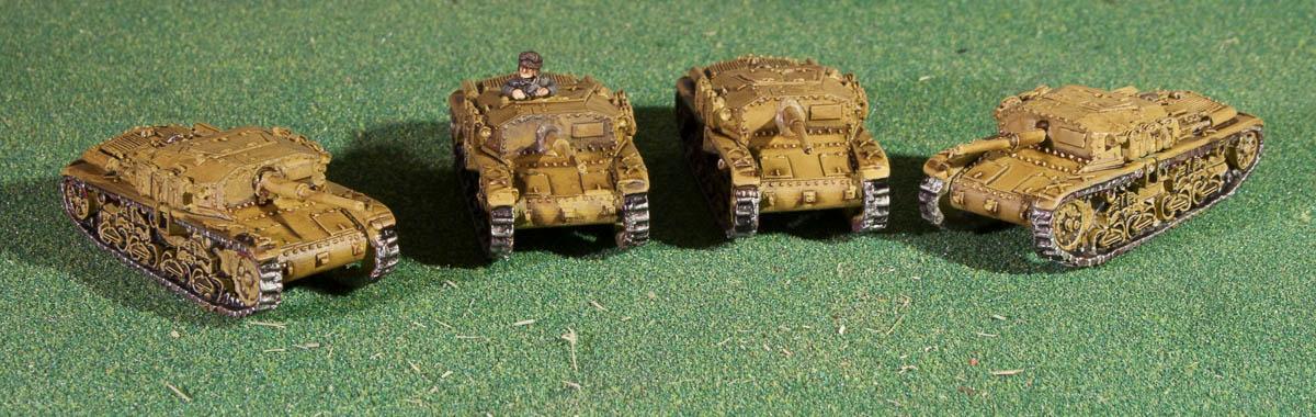 15mm, Flames Of War, Gebirgsjaeger, Gebirgsjager, Mountain Infantry, Semovente 75/34, Stug 75/34, World War 2
