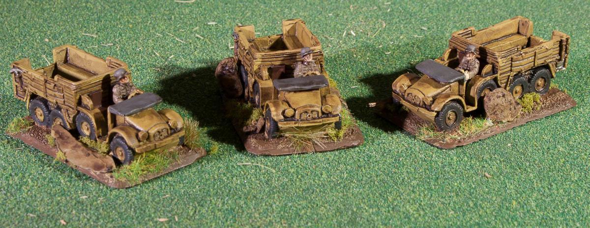 15mm, Flames Of War, Gebirgsjaeger, Gebirgsjager, Kfz 70, Mountain Infantry, World War 2