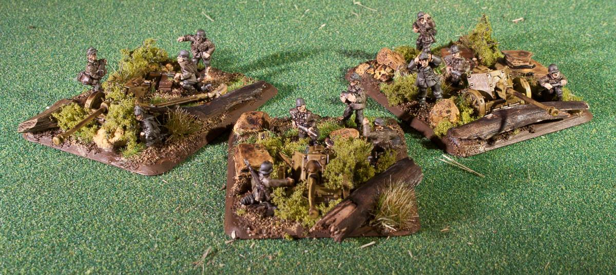 15mm, Flames Of War, Gebirgsjaeger, Gebirgsjager, Mountain Infantry, Pak 40, World War 2