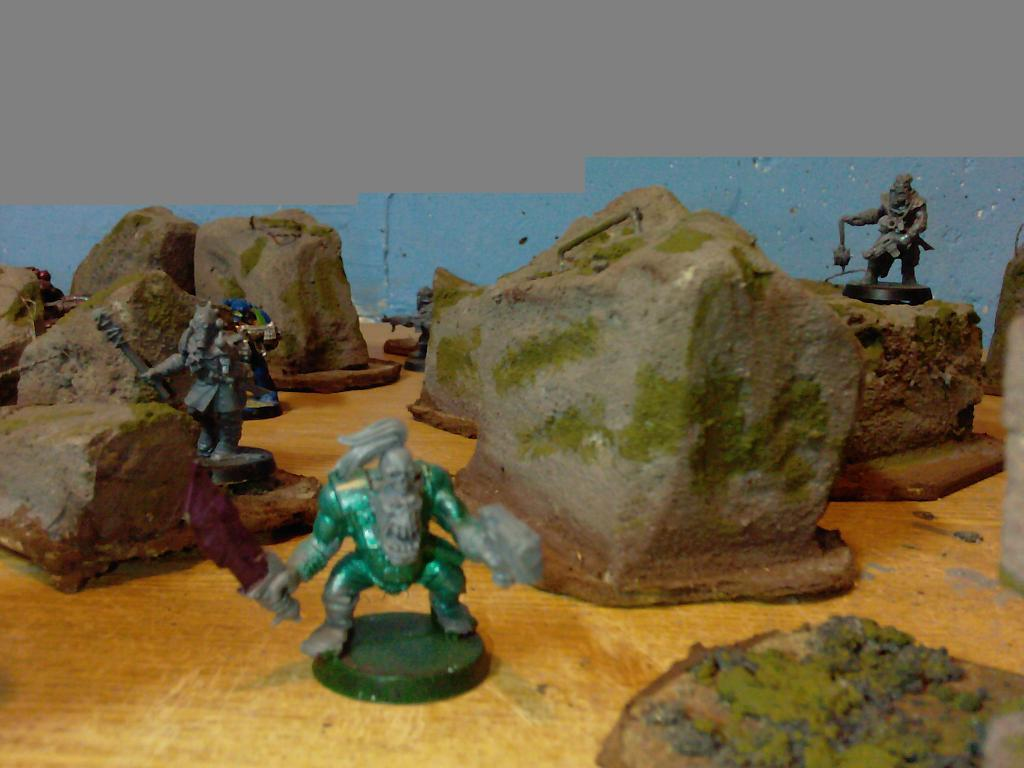 Custom, Defence Line, Do-it-yourself, Game Table, Stone