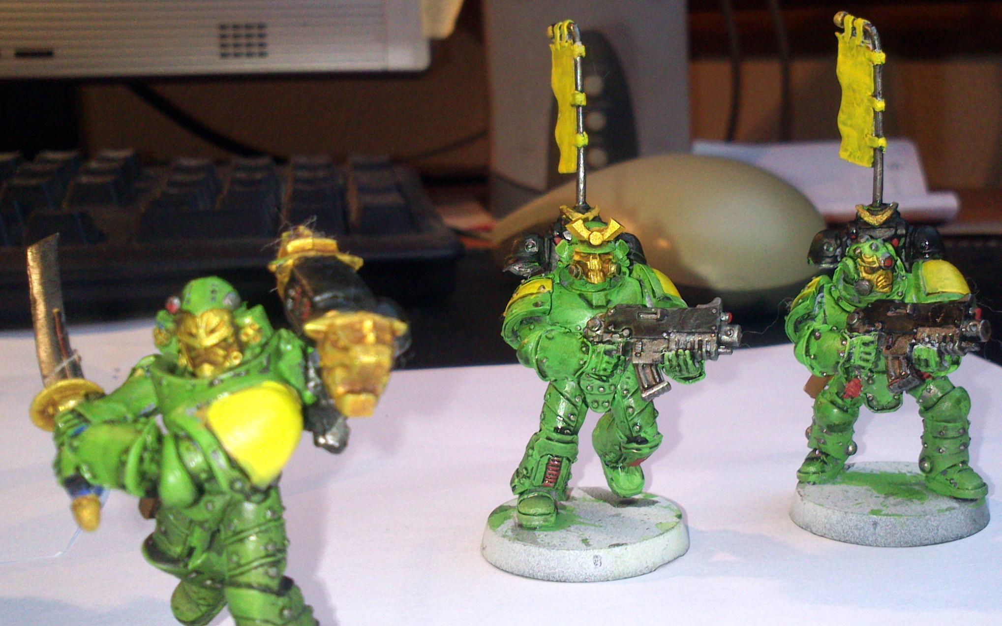 Mantis, Warriors, Mantis approaching