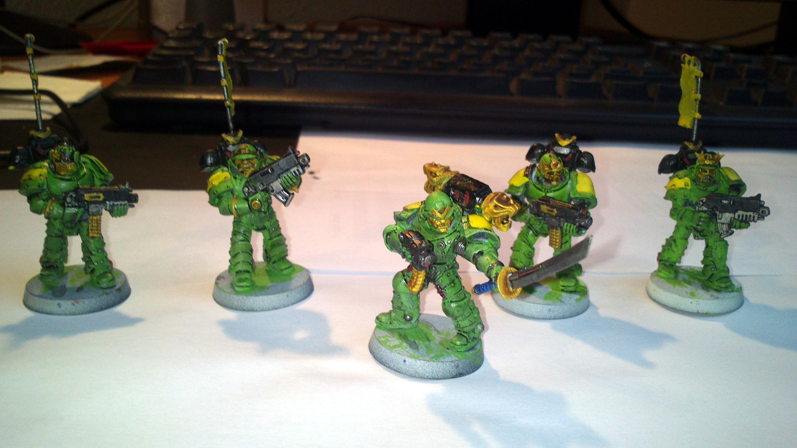Mantis, Warriors, Squad 1