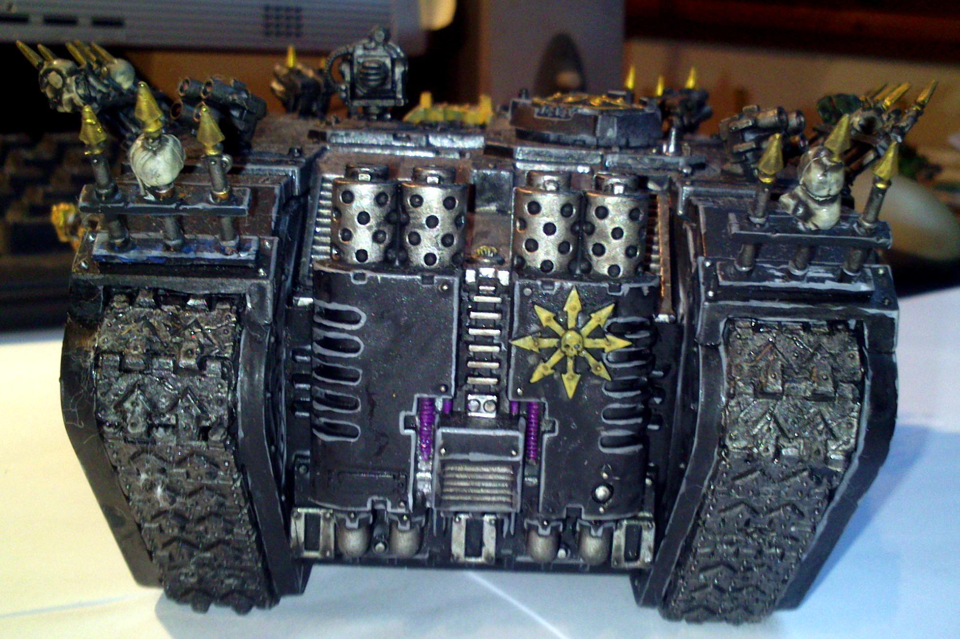 Black, Legion, rear view