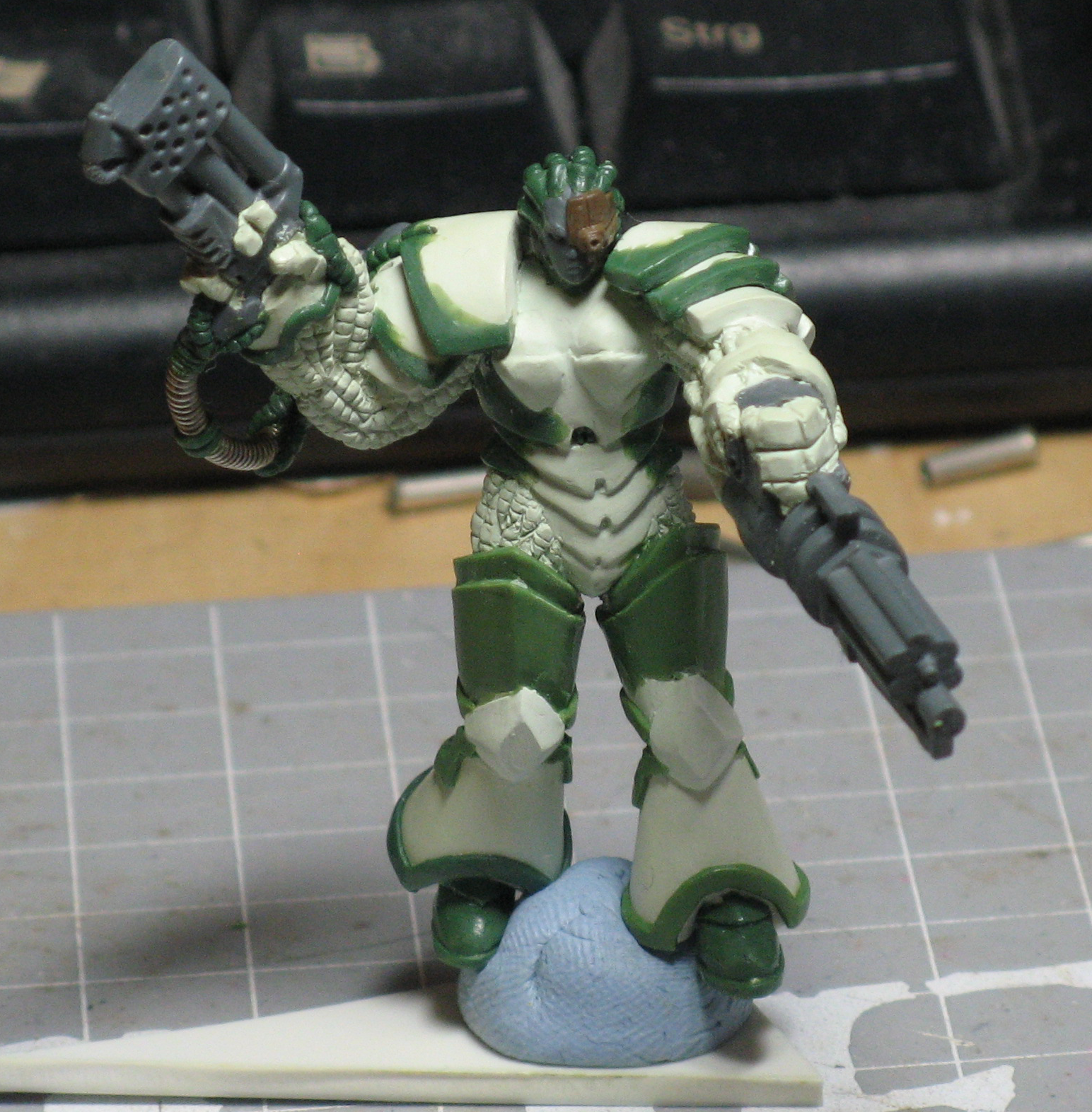 Chaos, Chaos Space Marines, Counts As, Obliterators, Warhammer 40,000, Work In Progress
