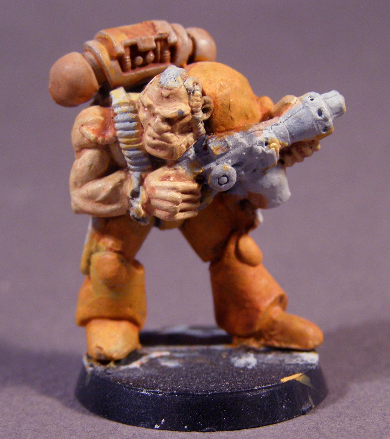 Flamer, Out Of Production, Space Marines, Warhammer 40,000