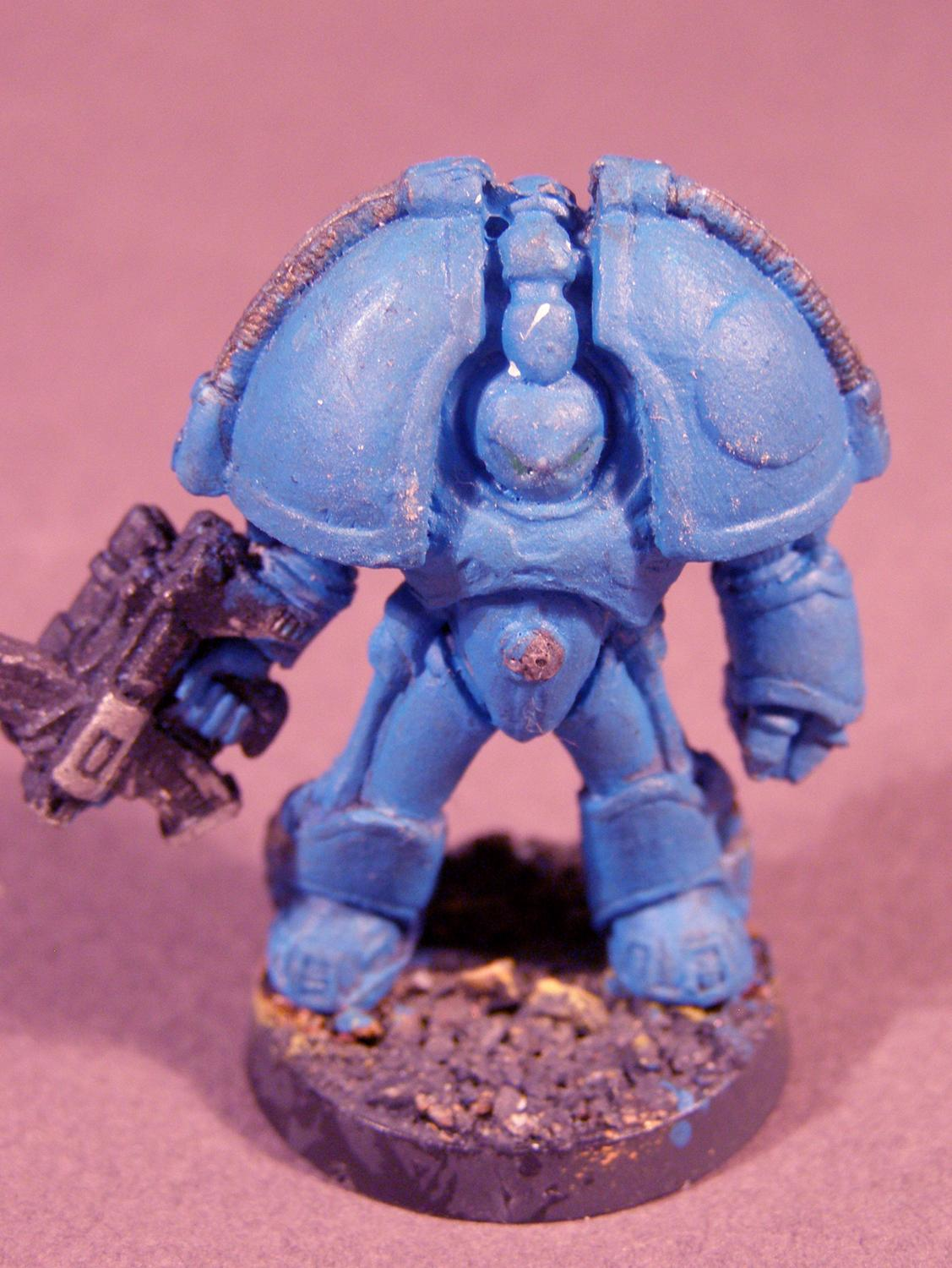 Original, Out Of Production, Space Marines, Terminator Armor, Warhammer 40,000